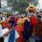 Ratusan Rombongan Ramaikan Pawai Budaya HUT Jadi Bima ke-379