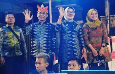 Kontingen Kota Bima Meriahkan Night Carnaval Ceremony Apeksi di Semarang
