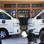 2 Mini Bus Milik Dishub Kabupaten Bima Mulai Beroperasi