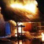 Rumah Dilahap Api, Pemilik Alami Luka Bakar Serius