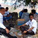 Bagian AP Setda Tetapkan Pal Batas di Kecamatan Rasanae Barat