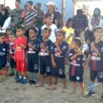 Camat Rasanae Barat Buka Turnamen Sepak Bola Mini Tingkat SD dan SMP