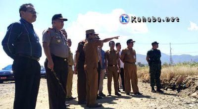 Walikota Bima bersama FKPD saat meninjau Kawasan Amahami