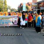 Puncak Harganas ke-26, DPPKB Kota Bima Gelar Jalan Santai Berhadiah