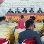 KPU Kabupaten Bima Pleno Penetapan Perolehan Kursi dan Calon Terpilih DPRD