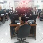 Bupati Bima Keluar Daerah, Paripurna Penandatangan Nota Kesepakatan Dihujani Interupsi