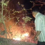 Antisipasi Kebakaran Hutan, Polisi Padamkan Titik Api di Pegunungan Lampe dan Kumbe