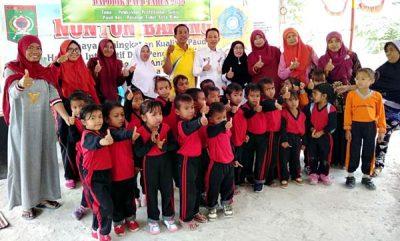 Dikbud Kunker ke Sekolah Alam Sonco Lola