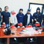 Terlibat Narkoba, 2 Wanita dan 4 Orang Pria Digelandang ke Polres
