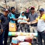 Diduga Arus Pendek, Jago Merah Lahap Rumah Warga Dara