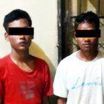 2 Pemuda Diringkus Saat Jual HP Hasil Mencuri