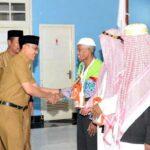 Wakil Walikota Bima Terima Kedatangan Jamaah Haji
