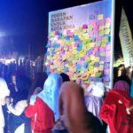Di Pameran Pembangunan, Pohon Harapan di Stand Bappeda Jadi Idola
