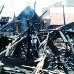 Arus Pendek, 10 Rumah Warga Ngali Terbakar