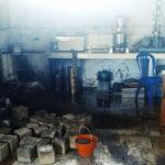 Sejumlah Alat di Workshop Dinas PUPR Terbakar