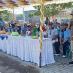 UPT SDP Pasar Amahami Helat Lomba dan Pemeriksaan Kesehatan Gratis