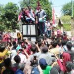 Temui Massa Aksi, Begini Tanggapan Ketua DPRD Kabupaten Bima