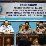 BNNK Bima Talkshow, Dewan Wacanakan Tes Urine Semua Wakil Rakyat
