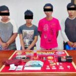 Polsek Rasanae Barat Tangkap Bandar dan KurirNarkoba di Tanjung