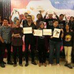 Jurnalis dan Koalisi Masyarakat Sipil NTB Tolak Revisi UU KPK