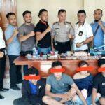 Polsek Rasanae Barat Ungkap Peredaran Narkoba di Tanjung