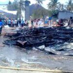 Rumah Panggung di Sarata Ludes Terbakar