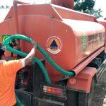 Pemerintah Distribusi Kebutuhan Air Bersih di Desa Mpili