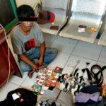 Maling Isi Toko Pasar Senggol, Pemuda Ini Dibekuk