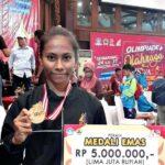 Atlet Pencak Silat SMPN 1 Raih Medali Emas Lomba O2SN Tingkat Nasional