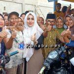 HM Lutfi Kembali Blusukan dan Bagi-bagi Uang di Kelurahan Tanjung
