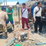 Polres Bima Bantu Anggaran Sumur Bor Warga yang Kesulitan Air Bersih