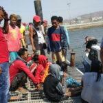 Dihantam Gelombang, Boat Ketinting yang Ditumpangi 5 orang Terbalik di Pulau Nisa