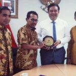 Walikota Bima Berkunjung ke Kedubes Indonesia untuk Korea
