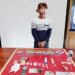 Diduga Kuasai Sabu-Sabu 5 Gram, DPO Diringkus Tim Opsnal Sat Narkoba