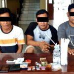 Hendak Ungkap Curanmor, Buser Justru Tangkap 3 Pria yang Pesta Narkoba