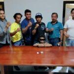 Diduga Sering Pesta Narkoba, Pemuda Ini Digelandang ke Polres
