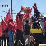GMNI dan LP2D Turun Demonstrasi, Tolak Bibit Jagung Premium