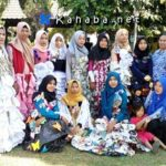 Keren, Siswa SMKN 3 Fashion Show Berbahan Daur Ulang Limbah