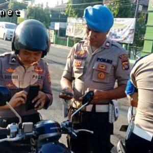Tidak Taat Aturan, 7 Anggota Polisi Terjaring Razia Propam