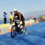 Lomba Triathlon Tingkat Nasional, Peserta Asal Sumatera Selatan Raih Juara 1