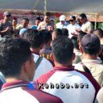 Pererat Sinergitas, Polisi Rayakan HUT TNI di Kompi 742 Senapan A