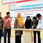 162 Petani Jagung Tandatangani Perjanjian KUR BNI Bima