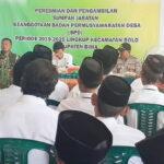 116 Anggota BPD di Bolo Dilantik, Camat: Semua Harus Paham Tupoksi
