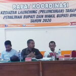 KPU Kabupaten Bima Rakor Bahas Persiapan Launching Pilkada