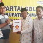 Ingin Ulangi Keberhasilan 2014, H Syamsudin Daftar di Golkar