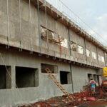 Pembangunan Puskesmas Sanggar Hampir Rampung