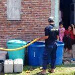 Bidang Damkar Intens Salurkan Air Bersih untuk Warga