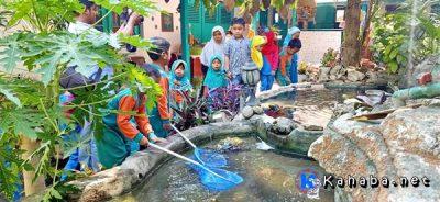 Cegah Stunting, TK PAUD Al Mahasin Gelar Gerakan Edukasi Makan Ikan