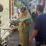 Camat Rasanae Barat Pantau Pekerjaan Dana Kelurahan