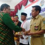 BPN Serahkan Sertifikat 800 Bidang Tanah Milik Pemkot Bima dan Masyarakat
